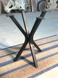 dining table base only. End Table Base Steel Accent Legs Dining Ideas Drafting Only