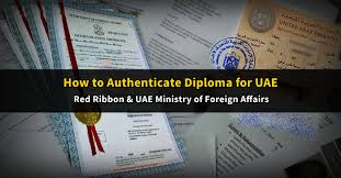 How To Authenticate Your Diploma Red Ribbon Mofa Attestation