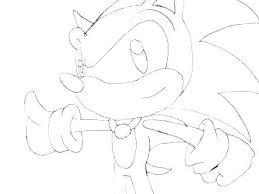 Sonic Printable Coloring Pages Sugarbucketinkcom