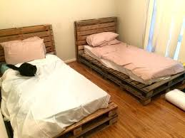 pallet bed ideas pallet bedroom ideas bedrooms pallet table ideas pallet bed wooden crate bed frame