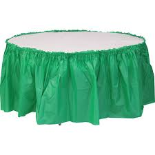 72 round heavy duty plastic table covers
