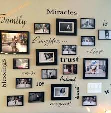 family photo wall trendy family frames wall decor for ideas of family wall art picture frames family photo wall