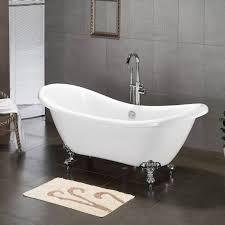 cambridge plumbing 68 62 x 28 5 claw foot slipper tub