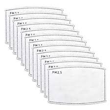 12 PCS <b>PM2</b>.<b>5 Activated Carbon</b> Face <b>Mask Filter</b> for Adults ...