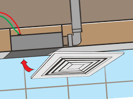 Venting A Bathroom Bathroom Exhaust Fan Venting The Bathroom - Bathroom venting into attic