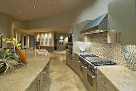 an example of the company s stunning work is the kitchen improvement of a contemporary home in el paso tx this beautiful wide kitchen area features light