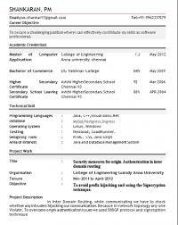freshers resume model s model lewesmr sample resume of freshers resume model