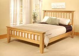 king size wooden bed frame