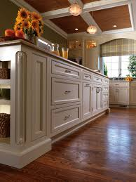beautiful white kitchen coffered ceiling
