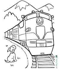 With these exciting free train coloring pages printable, you will open up new doors of exploration and imagination for your child. Train Coloring Pages