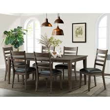 imagio home solid wood extending dining room table 6 chairs