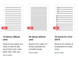 Blank Sheet Of Music Newzik Blog Free Online Resources For Blank Sheet Music