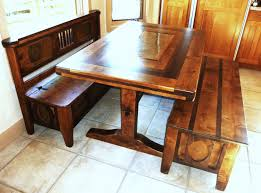 Rustic Wooden Kitchen Table Wooden Kitchen Tables With Benches Roselawnlutheran