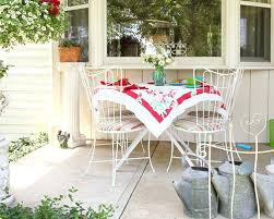 shabby chic patio furniture. Vintage Patio Furniture Or This Is An Example Of A Shabby Chic Style Concrete Porch Design . Good G
