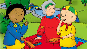 caillou is partnering with pbs kids to promote summer learning