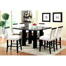 high dining set medium size of glass dining table 9 piece counter height dining set espresso