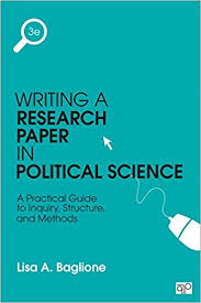 com writing a research paper in political science a  writing a research paper in political science a practical guide to inquiry structure and methods 3rd edition