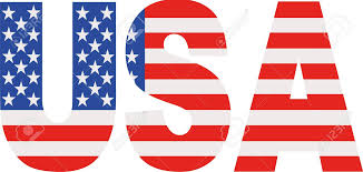 american flag word art usa word with flag royalty free cliparts vectors and stock