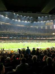 Mercedes Benz Superdome Section 119 Home Of New Orleans Saints