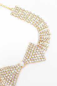 <b>Ожерелье</b>-бабочка из <b>кристаллов Ann</b> Devine арт DIA-3-GLD ...