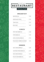Formal Dinner Menu Template Awesome Inspiration Thanksgiving Menu Template Medium Size Large Planner
