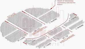 Gershwin Theatre Seating Chart View True To Life Seating Chart For Gershwin Theater Best Seats