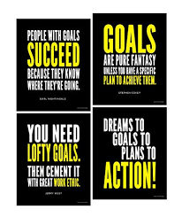Goals Quotes Magnificent Amazon Goal And Work Ethic Inspirational Posters Motivational