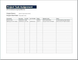 Project Task List Template Word Excel Project Plan Template Via Management Task List Templates For