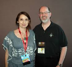 geek with curves: Lunch with Timothy Zahn & Shelly Shapiro