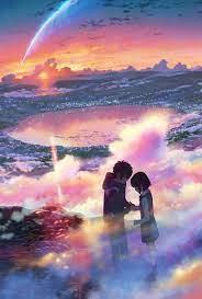 Anime scenery, Kimi no na wa wallpaper