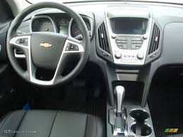 2012 Chevrolet Equinox LTZ AWD Jet Black Dashboard Photo #53928439 ...