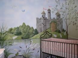 fairy tale castle nursery rhymes hand painted wall mural on castle wall art mural with fairy tale castle nursery rhymes hand painted wall mural tierra