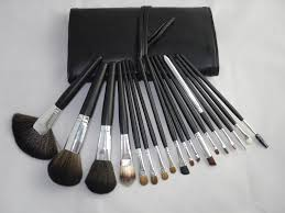 mac makeup brushes photography black brush set