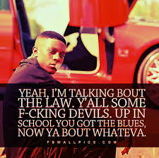 Lil Boosie Quotes Interesting Lil Boosie Law Devils Quote Facebook Wall Pic FBWallPics