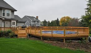 above ground pool with deck attached to house. Above Ground Pool Decks Attached To House - Google Search With Deck I