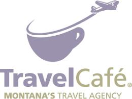 travel cafe destination wedding Travel Wedding Logo travel cafe logo travel themed wedding logo