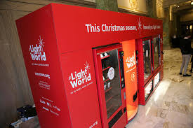 The First Vending Machine Awesome This Is The First Of Its Kind Charity Vending Machines Business Zoom