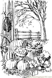 If you've downloaded any of my pages, then here are a few tips on getting the best printing results: Fall Coloring Pages Printable Coloring Pages Fall Harvest Natural World Autumn Free Prin Fall Coloring Pages Thanksgiving Coloring Pages Coloring Pages