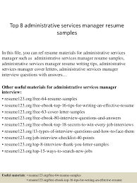 top administrative services manager resume samples top administrative services manager resume samples in this file you service manager resume examples