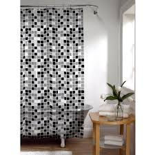 black and white shower curtains. Black And White Shower Curtains