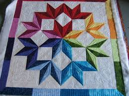 321 best Quilting Design Examples images on Pinterest | Free ... & Beautiful star quilting by Jamie w. via http://mqresource.com Adamdwight.com