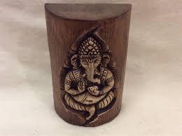 ganesh wall art wooden
