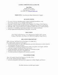Concierge Job Description Resume Amazing Concierge Resume New