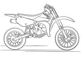 Suzuki Dirt Motorfiets Kleurplaat Gratis Kleurplaten Printen