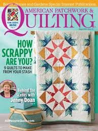 American Patchwork & Quilting August 2016 | AllPeopleQuilt.com & August 2016. The August 2016 issue of American Patchwork & Quilting ... Adamdwight.com