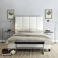 HomeSullivan Upland White King Upholstered Bed