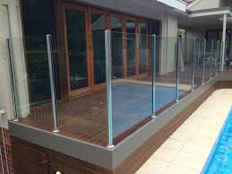 glass deck railing system implausible frameless systems doubtful equip panel balcony home ideas 37