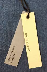 Clothing Tag Label Design Quote Hangtag Tag Design Price Tag Design Clothing Tags