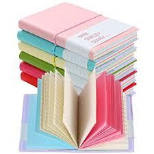 Shulaner Charming <b>Portable Mini</b> Smiley <b>Diary Notebook</b> with ...