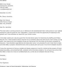 Security Job Cover Letter Templates Radiodigital Co